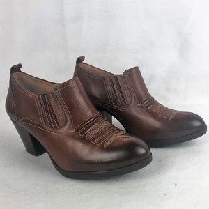 Nurture Womens Brown Ankle Boot
